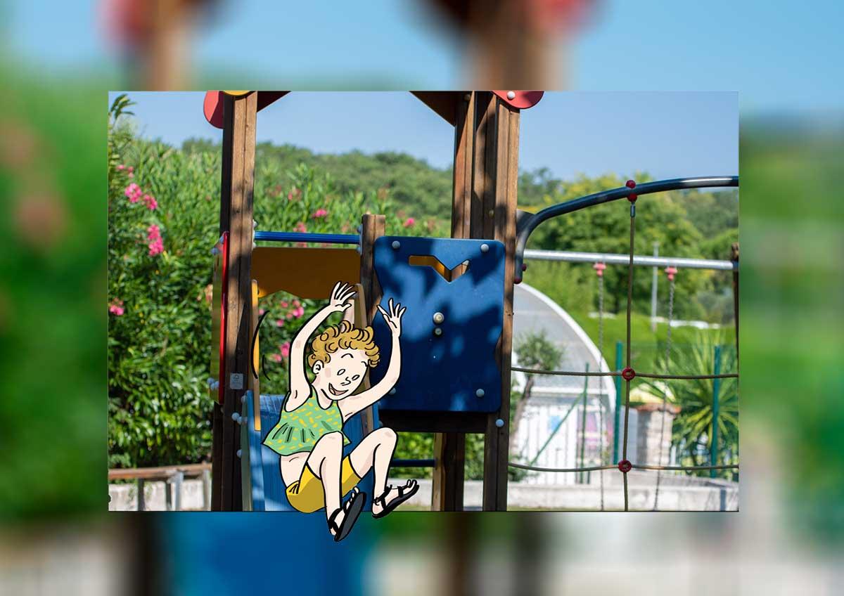 Camping la Vieille Ferme - Air de jeux